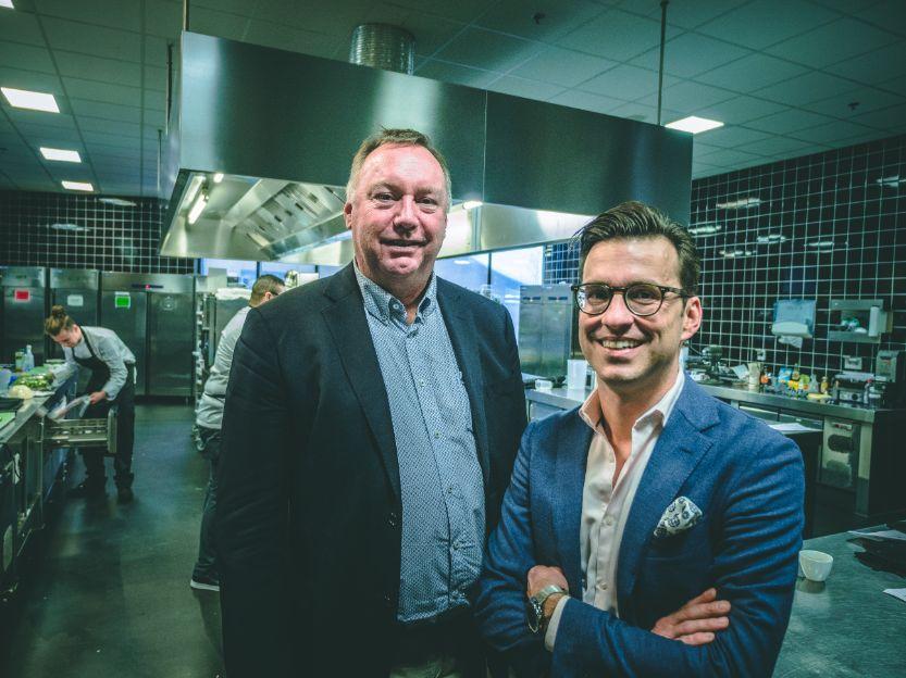 Michel Kloeg (links) en Michel Schrier (rechts)