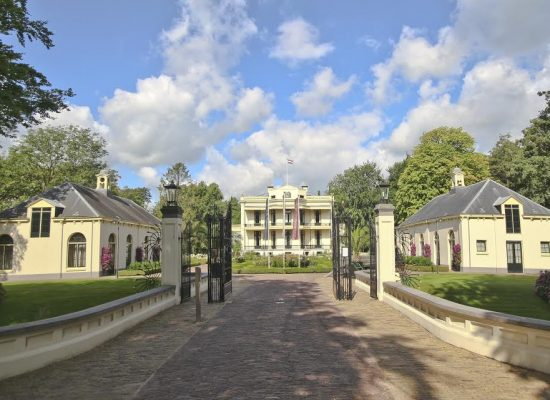 Kasteel de Vanenburg in Putten